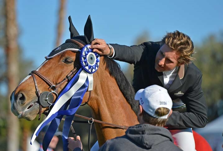 Adam Prudent Sweeps First Two Jumping Classes at Live Oak International