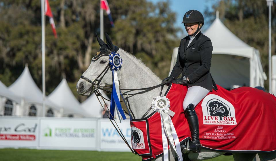 Chester Weber, Marylin Little Take The Day At Live Oak International