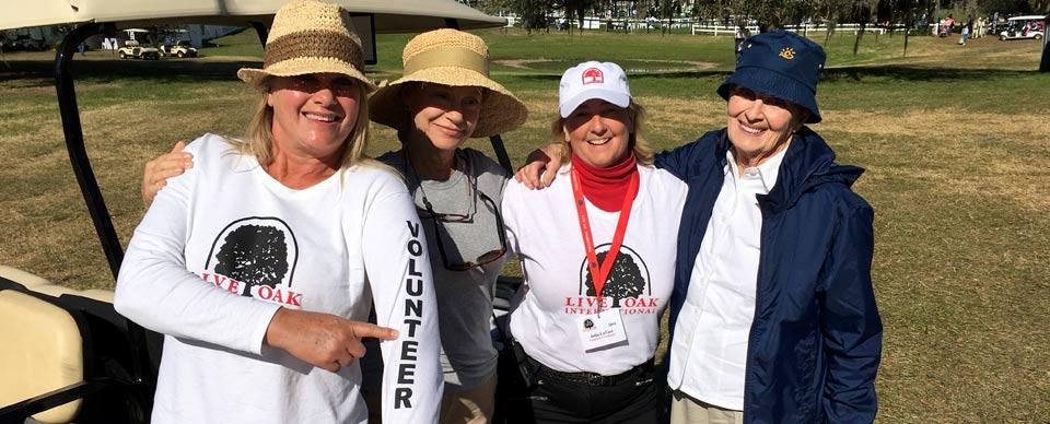 Live Oak Volunteers Make Event Possible