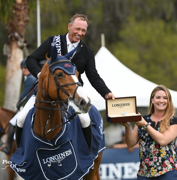 Minikus Faultlessly Wins At Live Oak International Earns Trip to Longines FEI World Cup Finals