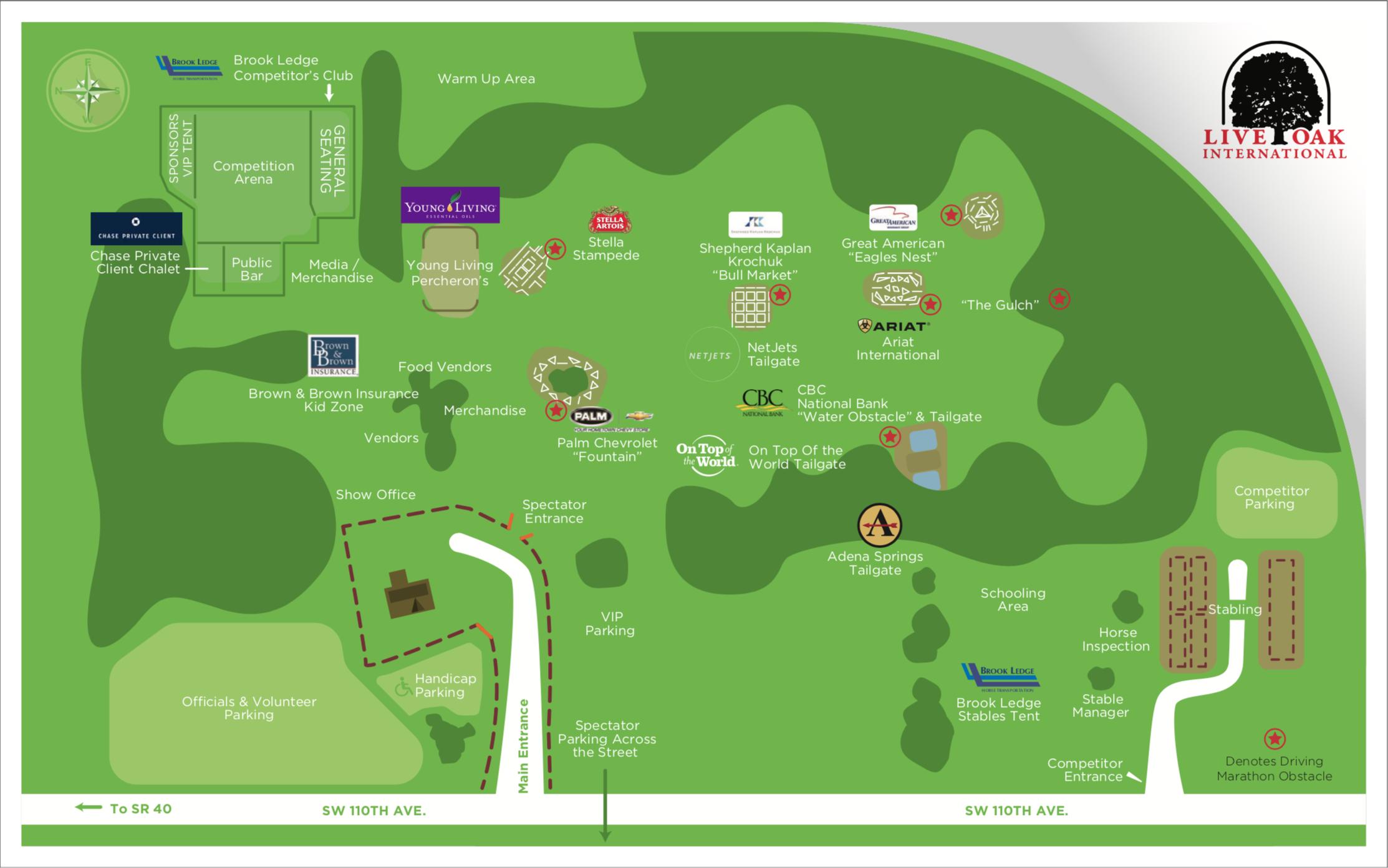 Live Oak Map 2017