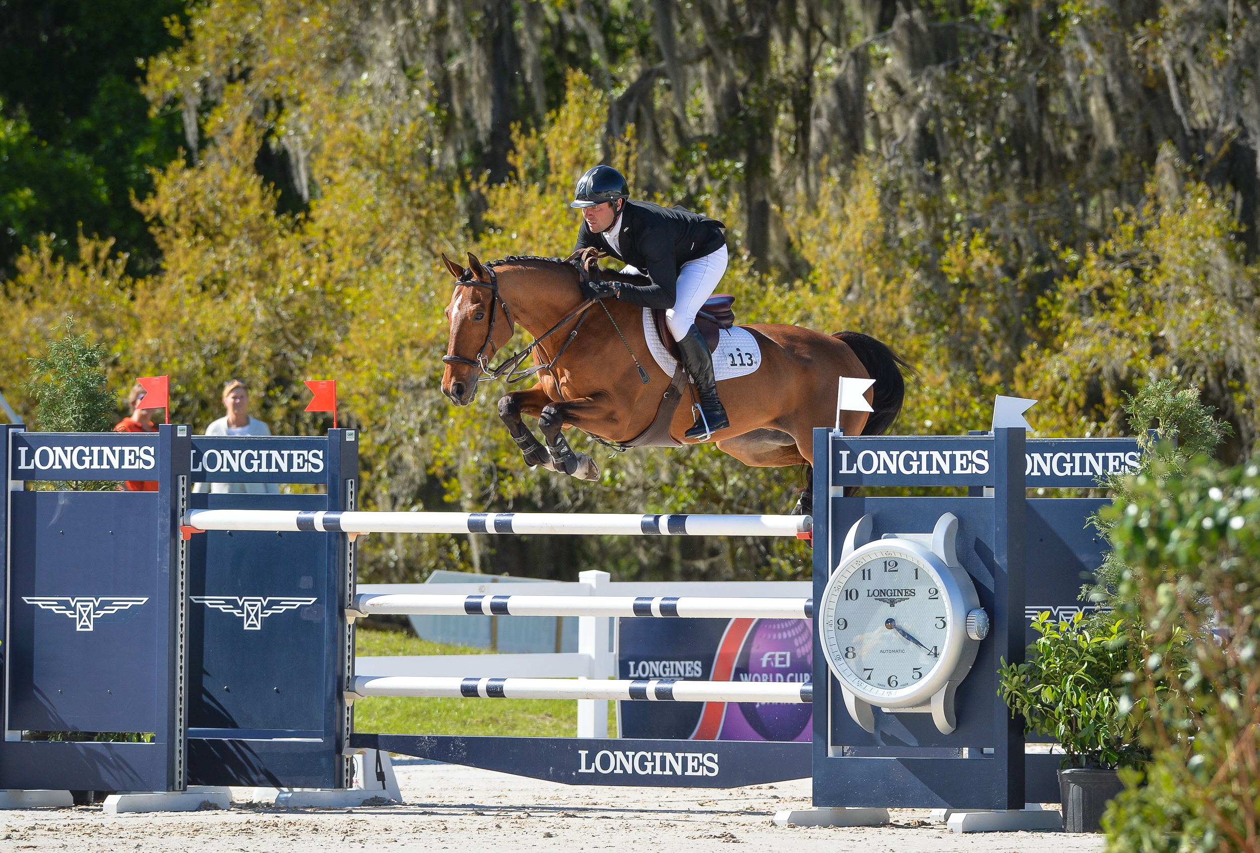 World Equestrian Games Gold Medalists Entered at Live Oak International
