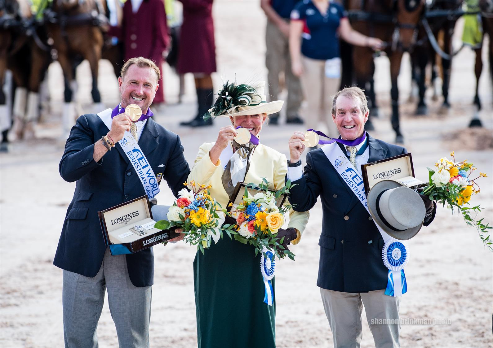U.S. Driving Team Wins First-Ever FEI World Equestrian Games™ Gold Medal, Delivering Epic Grand Finale to Tryon 2018