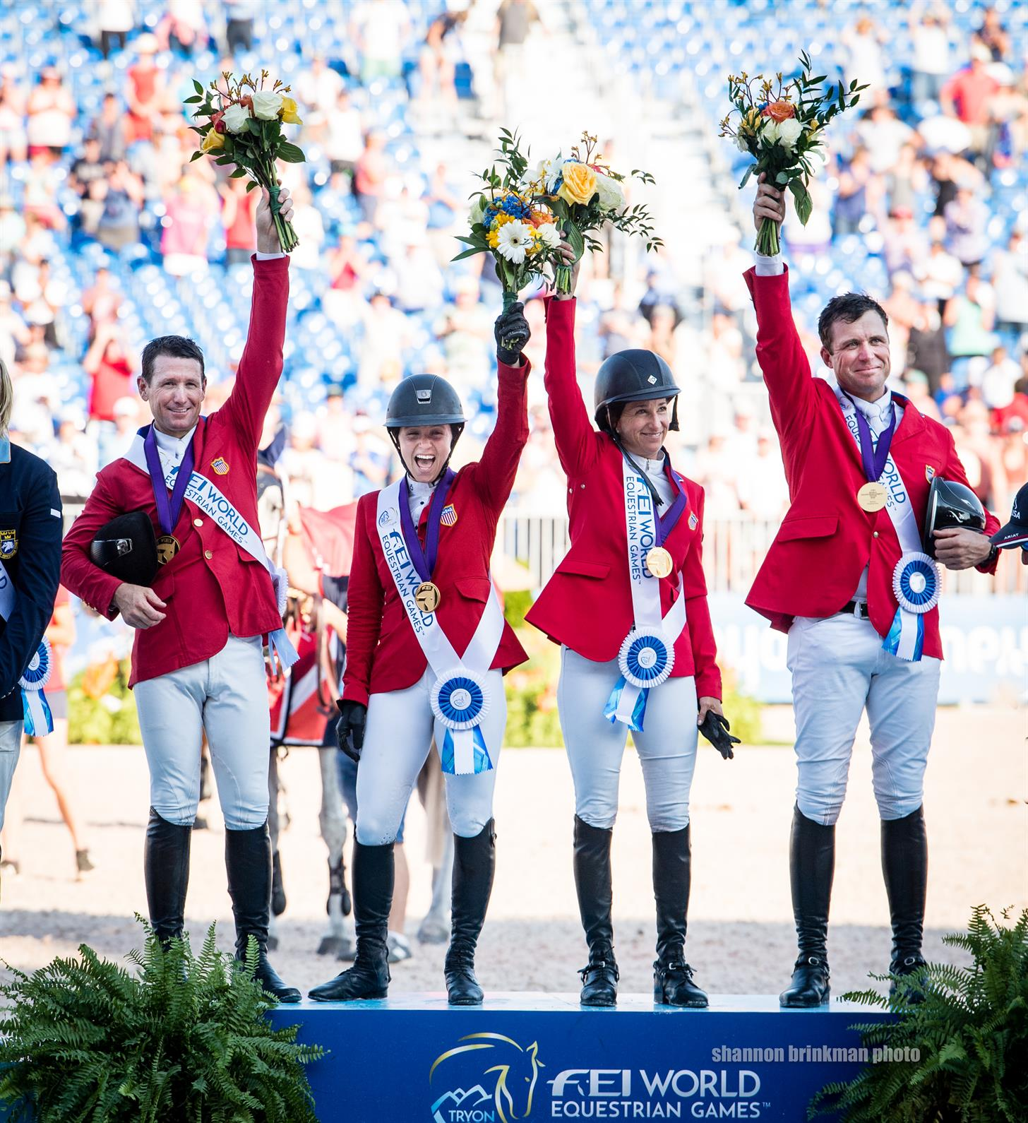 NetJets® U.S. Jumping Team Scores Olympic Qualification, Earns Historic Gold Medal in Jump-Off at FEI World Equestrian Games™ Tryon 2018