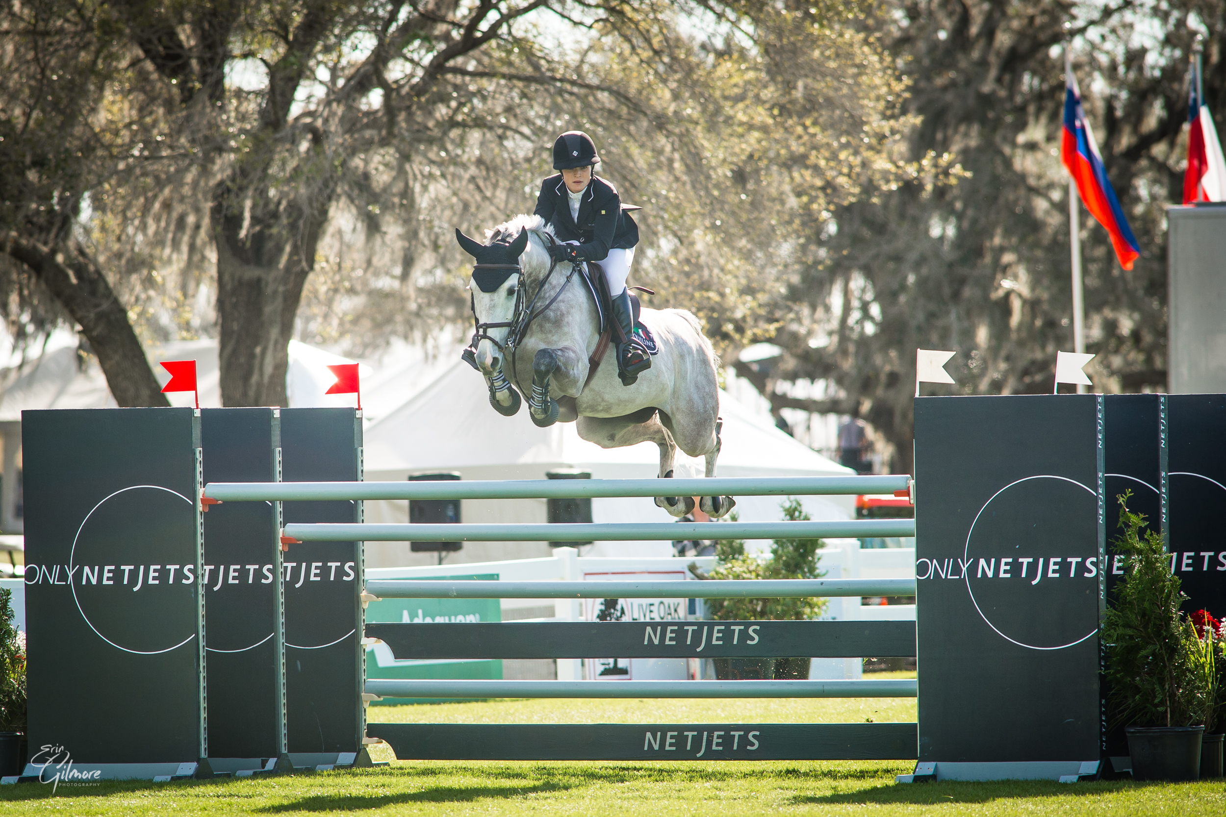 CHLOE REID WINS THE $36,600 LIVE OAK INTERNATIONAL CSI3* LONGINES WORLD RANKING TABLE A SPEED CLASS