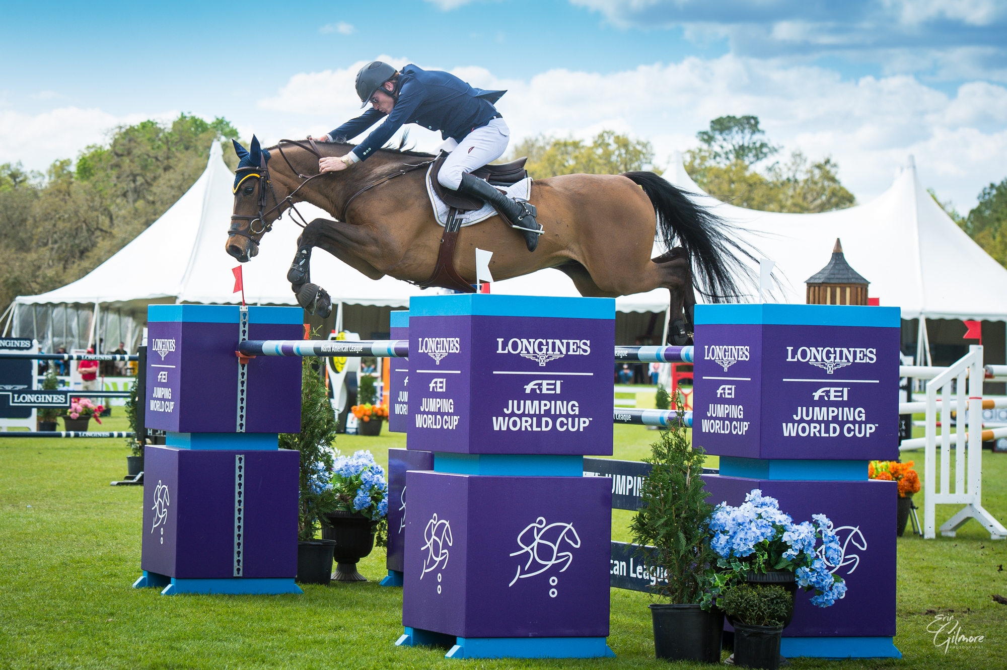 DANIEL COYLE WENT LAST AND FAST TO WIN THE $100,000 LONGINES FEI JUMPING WORLD CUP™ OCALA AT LIVE OAK INTERNATIONAL